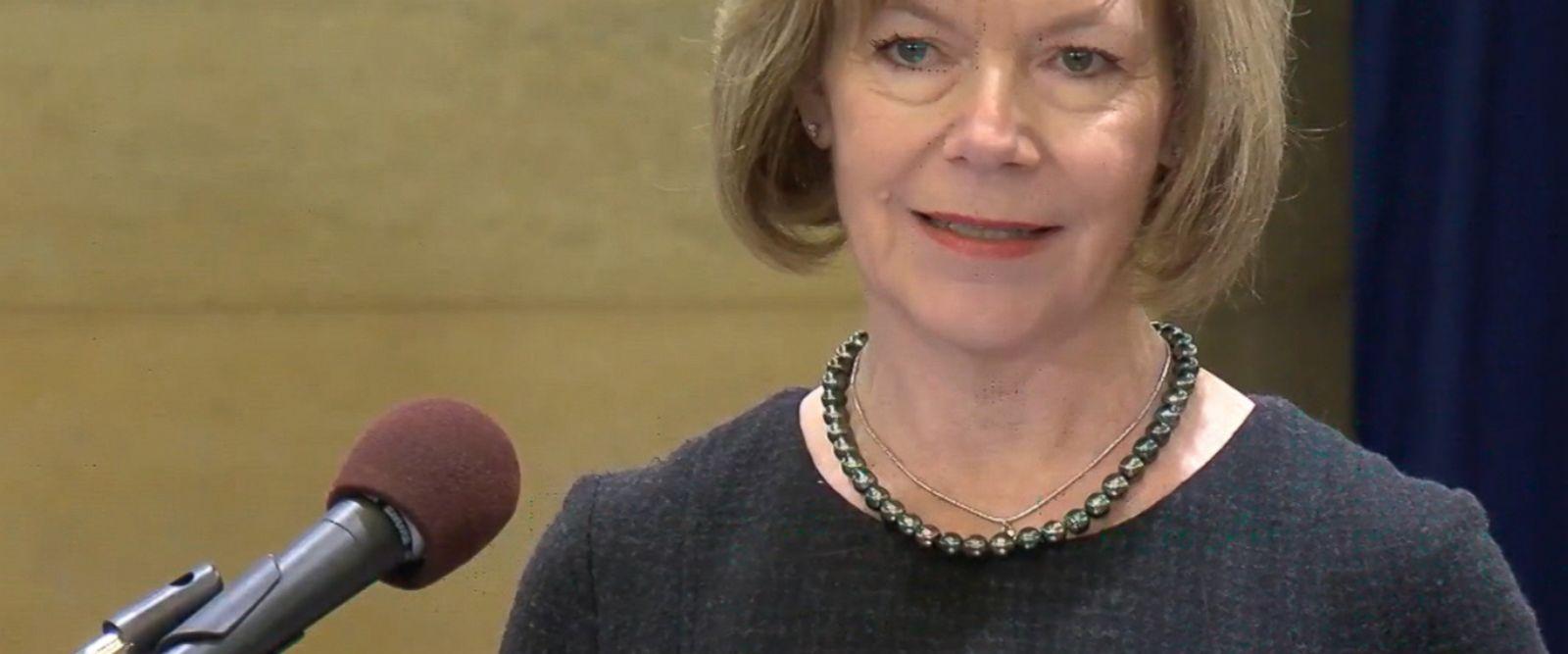 The lieutenant governor from Minnesota was chosen to fill Al Franken's Senate seat.
