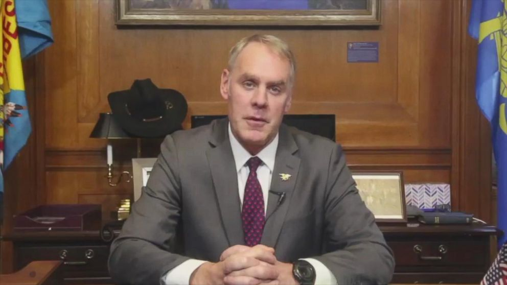 'VIDEO: Interior secretary addresses sexual harassment1_b@b_1agency' from the web at 'http://a.abcnews.com/images/Politics/171214_vod_interior_zinke_16x9_992.jpg'