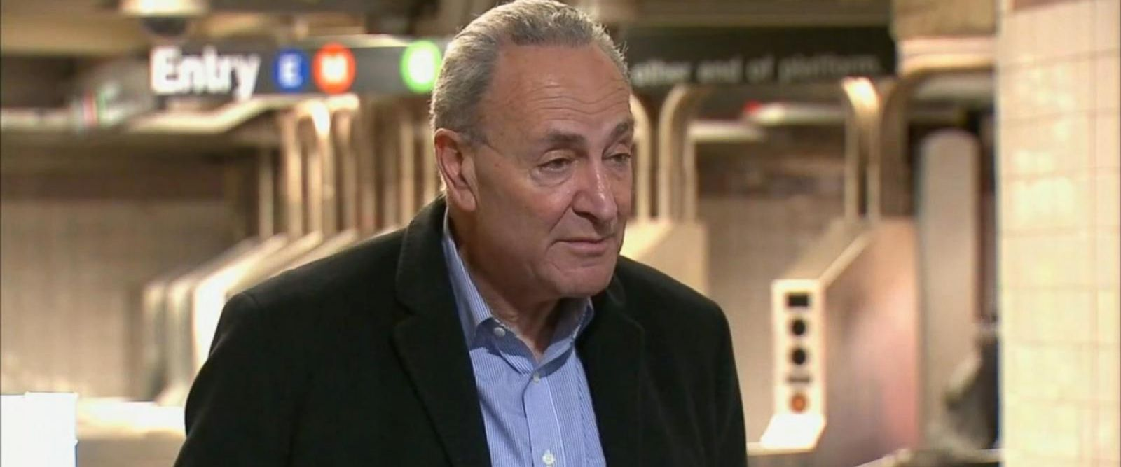 "VIDEO: Democratic Sen. Charles Schumer is asking the TSA to ""speed up the testing and perfecting of this technology."""