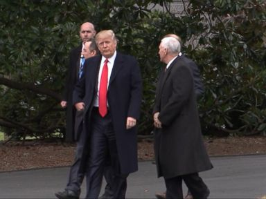 WATCH:  Trump sums up his workout routine: 'I walk, I this, I that'