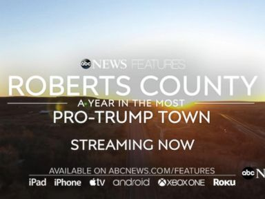 WATCH:  Inside the ABC News feature: 'Roberts County: A year in the most pro-Trump town'