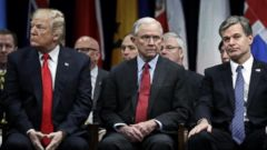 VIDEO: Attorney General Jeff Sessions has been pushing FBI Director Chris Wray to replace his deputy, Andrew McCabe, and install new leadership within the FBI, according to two sources familiar with the matter.