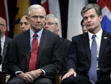 WATCH:  Jeff Sessions pushing FBI director to clean house at top of agency