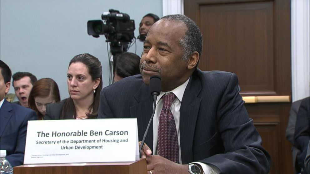 Some 'not comfortable' with trans people at shelters, Ben Carson says