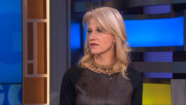 PHOTO: Kellyanne Conway appears on
