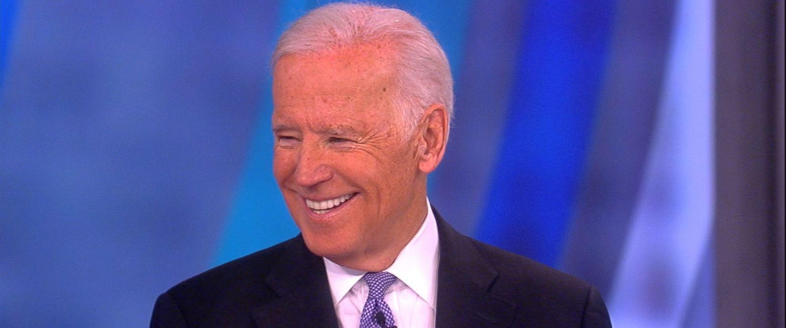 "PHOTO: Vice President Joe Biden appeared on ""The View,"" Jan. 13, 2017."
