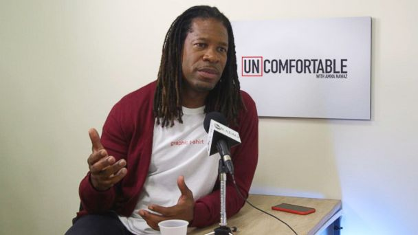 PHOTO: LZ Granderson discusses his decision to come out as gay on the podcast