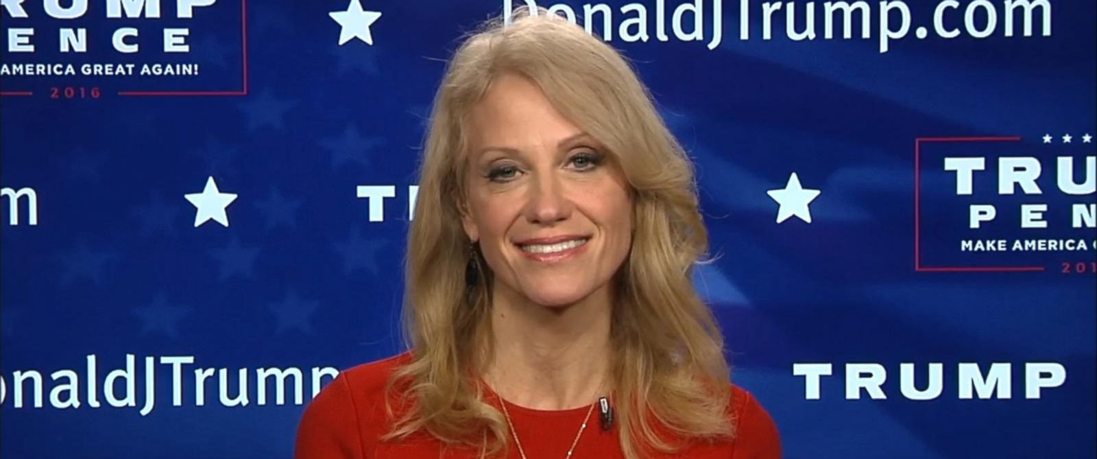 PHOTO: Kellyanne Conway spoke with George Stephanopoulos, Nov. 8, 2016 ...
