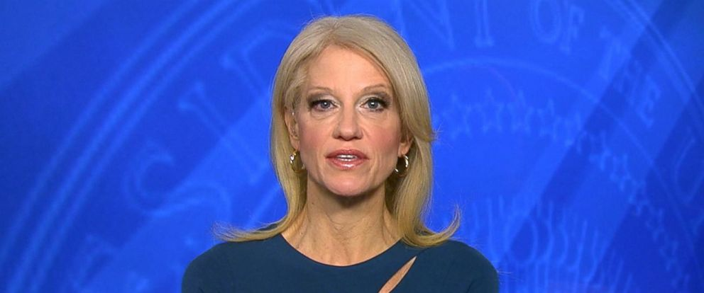 "PHOTO: Kellyanne Conway appears on ""Good Morning America,"" Jan. 30, 2017."
