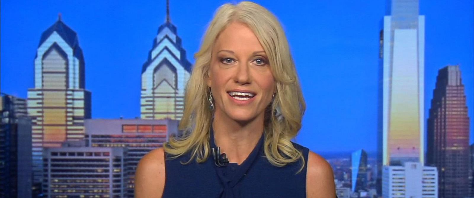 Image result for Conway: No meaningful information received in Trump Jr's meeting with Russian lawyer