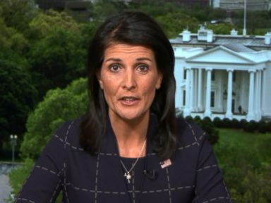 Haley tells N. Korea, 'We don't want war, so don't start one'