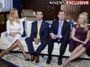 Trump Children Weigh In on Family Business
