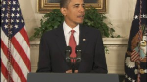Video of President Obama saying he will shelve the current U.S. missile defenese plan and lay out a new defense plan.