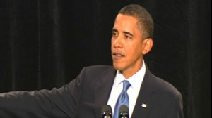 Video of Obama in Baltimore at the Republican retreat