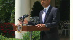 Video of Obama discussing the tobacco bill.