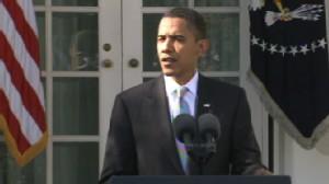 Video President Barack Obama on the jobless rate.