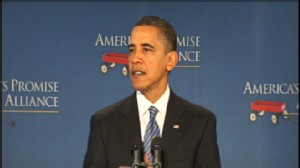 Video of President Barack Obama announces education plan.