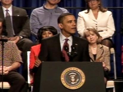 Video of President Obama saying I love vegas.