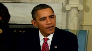 Video of President Obama talking about the election in Afghanistan.