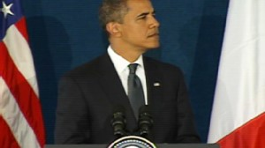 Video of Obama talking about Africa.