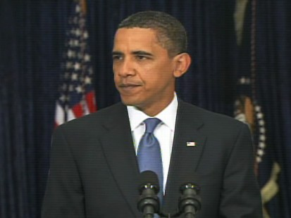 Video of President Obama saying its time to tackle health care.