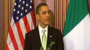 Video of Obama invoking Ted Kennedy on health care.