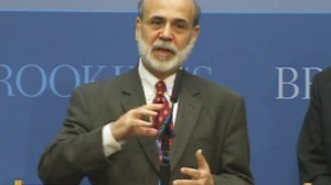 Video of Federal Reserve Chairman Ben Bernanke saying the recession is very likely over.