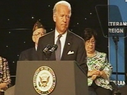 Video: VP Joe Biden remarks on Iraq draw down.