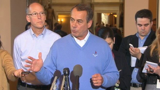 VIDEO: Boehner: I Mean What I Say