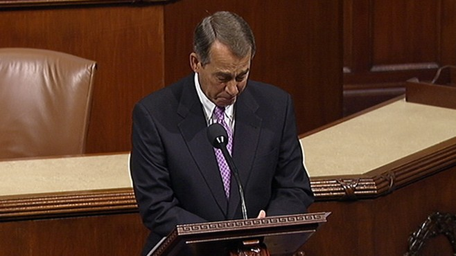 VIDEO: Speaker Boehner: 'Our Hearts Are Broken'