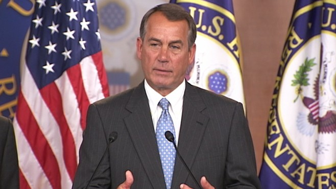 VIDEO: Boehner Dismisses CBO Health Care Repeal Report