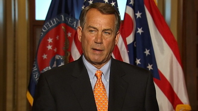 VIDEO: Boehner: Government Shutdown 'Not The Goal'