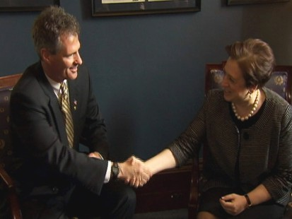 Video of Senator Scott Brown meeting with Elena Kagan.