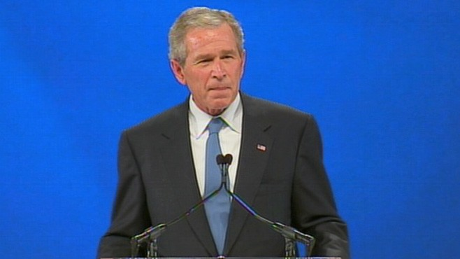 VIDEO: George W. Bush: 'Only President' To Win '5 Times'