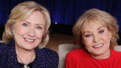 PHOTO: Hillary Clinton was named Barbara Walters' Most Fascinating Person of 2013.