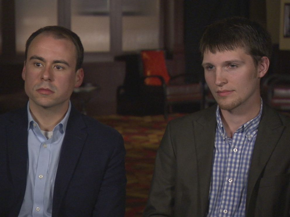 Keith Allard (left) was Cindy Gamrat's chief of staff, and Ben Graham (right) was Todd Coursers aide.