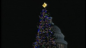 ABC News video of the U.S. Capitol Christmas tree lighting.