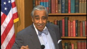 Video of New York Rep. Charlie Rangel stepping down from House Ways and Means committee.