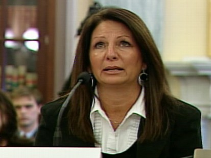 Video of mother testifying on Capitol Hill about carbon monoxide dangers.