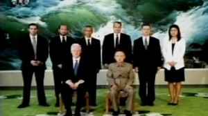 ABC News video of Bill Clinton meeting Kim Jung Il.