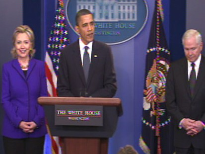Video of President Barack Obama announcing new treaty with Russia.