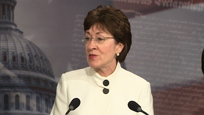 VIDEO: Susan Collins on DADT: 'Extremely Disapointed'