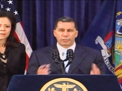 Video of New York Governor David Paterson ending his election campaign.