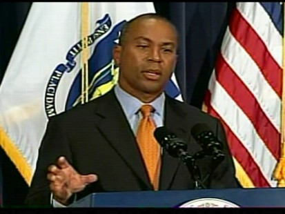 ABC News video of Massachusetts Governor Deval Patrick on Kennedys seat.