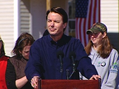 VIDEO: Edwards ends his bid for the presidency in New Orleans.