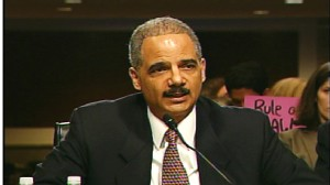 Video of Attorney General Eric Holder defending trials of 9/11 suspects.
