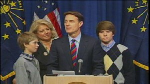 Video of Senator Evan Bayh on retiring from the Senate.