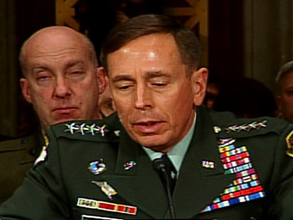 ABC News video of Gen. Petreus testifying Dec. 9, 2009 on Afghanistan.