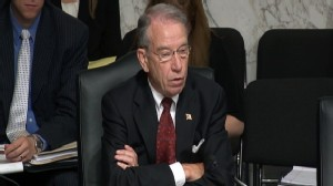 Video: Sen. Grassley questions Kagan on guns.