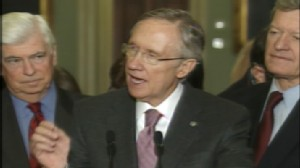 ABC News video of Harry Reid discussing health care reform.